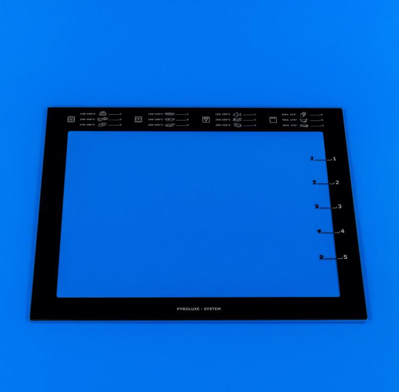 Внутреннее стекло дверки Electrolux 5612850098 для духовки