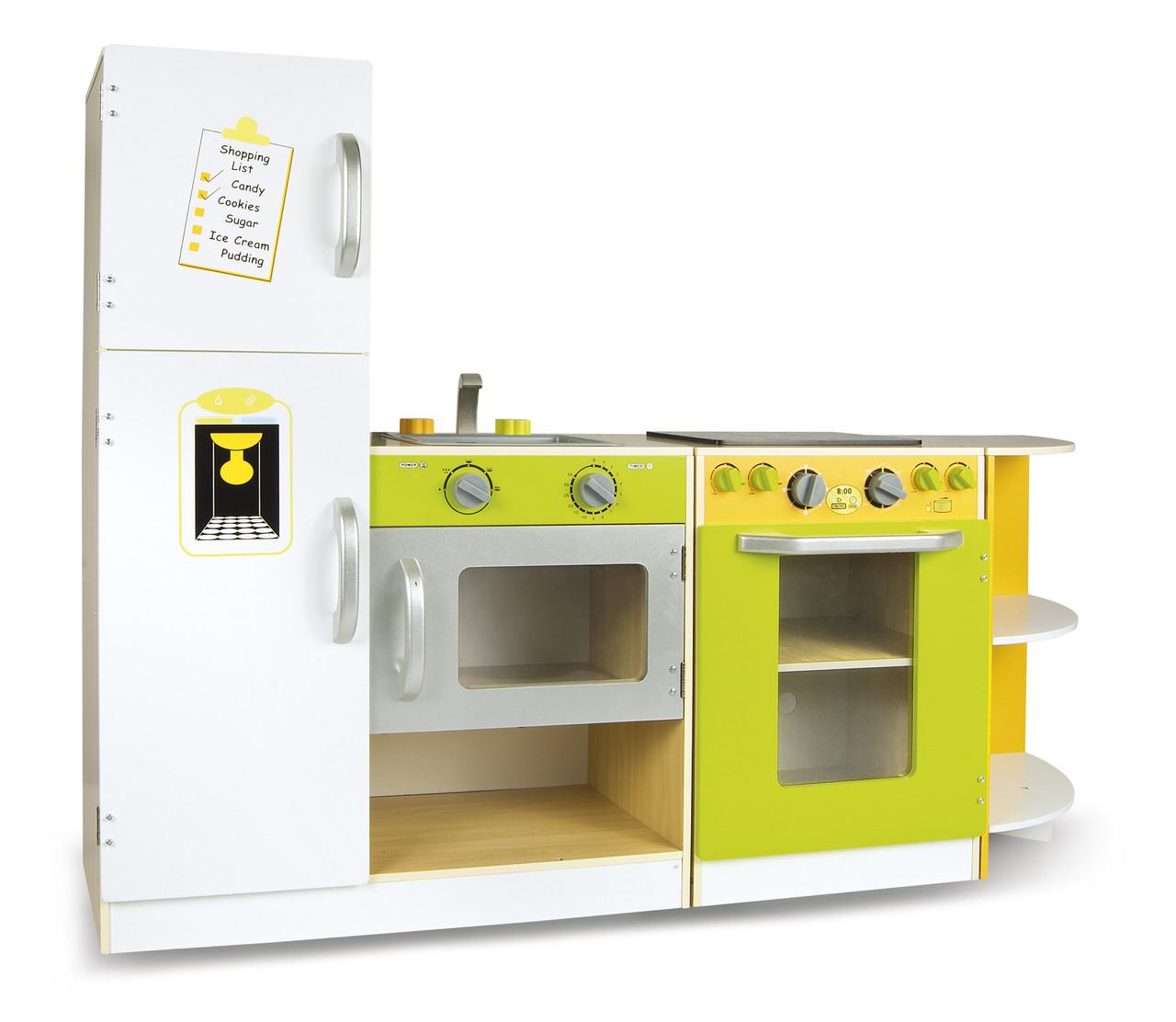 Дитяча дерев'яна кухня Flex Concept 246209 + аксесуари (9096)