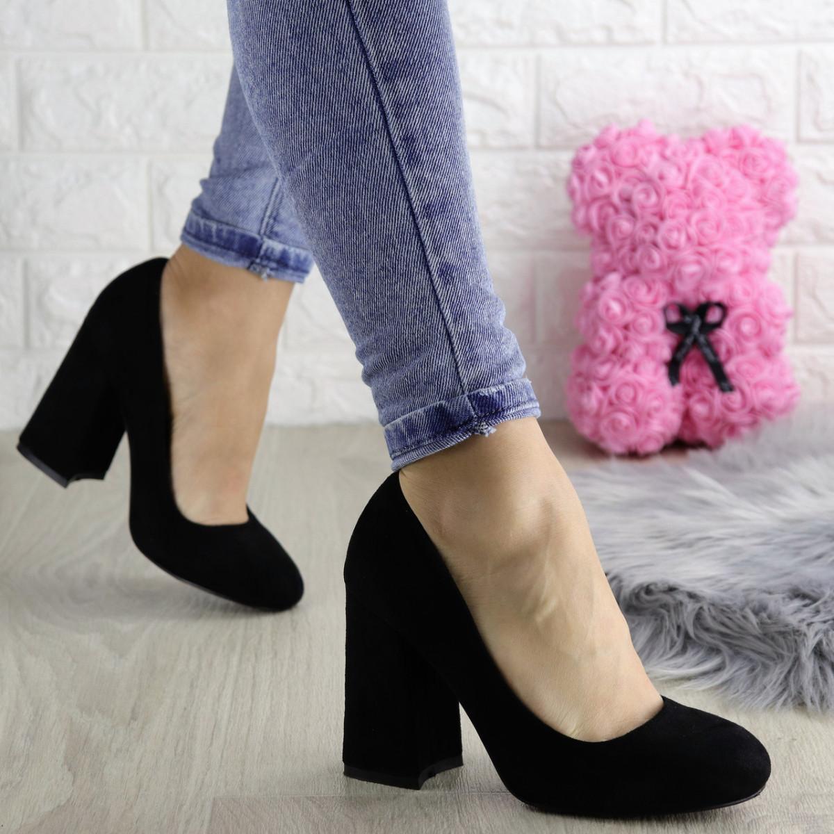 Туфли женские Vanilla черные 1345