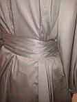 Блуза женская туника из тонкого полированного хлопка, дизайнерская модель, 50,52,54,56 , бл 035-4, фото 6