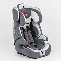 Автокресло универсальное FX 1771 Joy 9-36 кг ISOFIX, гипоаллергенное дитяче автокрісло | Бело-серый