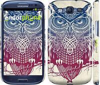 "Чехол на Samsung Galaxy S3 Duos I9300i Сова 2 ""2726c-50"""