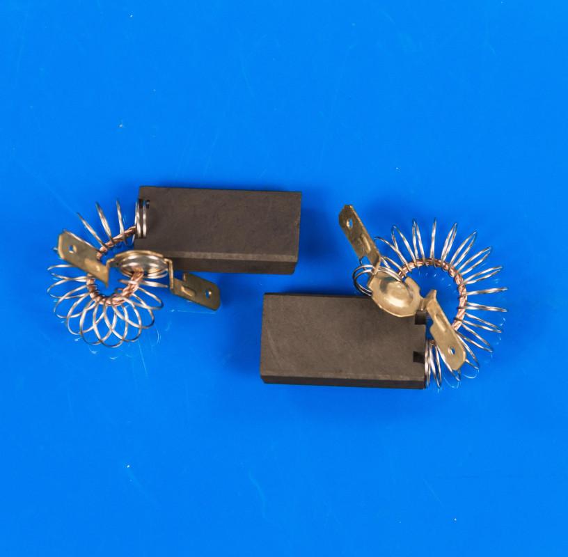 Щетки угольные цельные 5х15х27 с пружиной, провод по центру