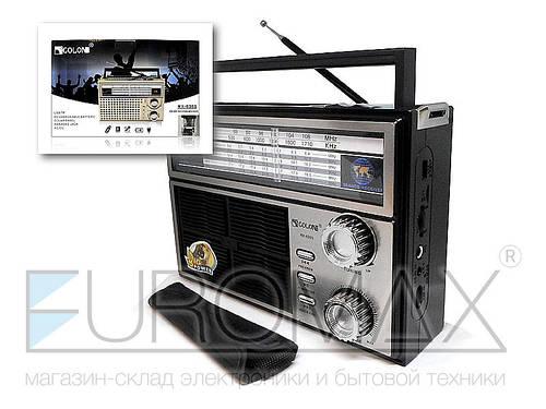 Радиоприемник Golon Solar 16шт RX-626S