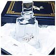 """Подарочный набор графин с рюмками в кожаном подарочном футляре """"Рыбак"""", фото 2"""