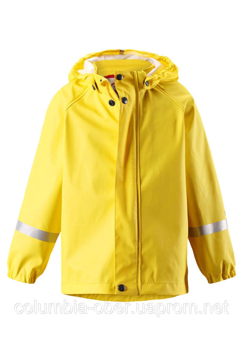 Демисезонный куртка-дождевик для девочки Reima Lampi 521491-2350. Размеры 110 - 128.