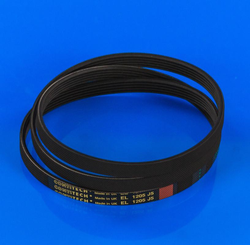 Ремень черный «Contitech» 1205 J5 EL