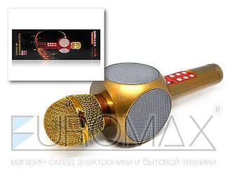 Микрофон караоке с подсветкой (цвета) 40шт WS1816