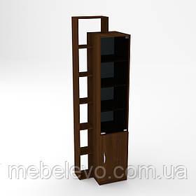 Книжный шкаф  -10 2150х350х464мм    Компанит