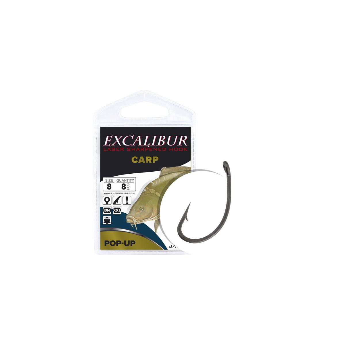 Крючок Excalibur Carp Pop-up №2