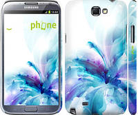 "Чехол на Samsung Galaxy Note 2 N7100 цветок ""2265c-17"""