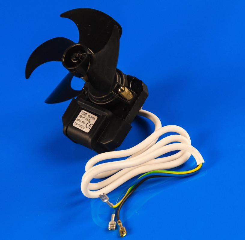 Вентилятор обдува No-Frost Indesit в сборе с крыльчаткой 90мм