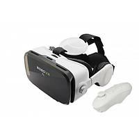 Очки виртуальной реальности для просмотра 3D-фильмов,видео,игр, бело-черные BOBOVR Z4 с наушниками