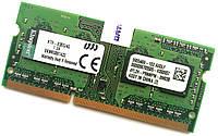 Оперативная память для ноутбука Kingston SODIMM DDR3 4Gb 1333MHz 10600s CL9 (KTH-X3BS/4G) Б/У