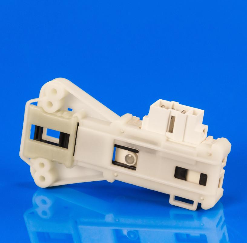 Устройство блокировки люка (замок) Indesit Ariston C00085194 (Metalflex ZV-446)