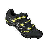 Обувь EXUSTAR MTB SM366  размер 44, BK/GR