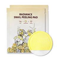 Салфетка для очищения и пилинга с улиточным фильтратом SeaNtree Radiance Snail Peeling Pad (seaNtree10319)