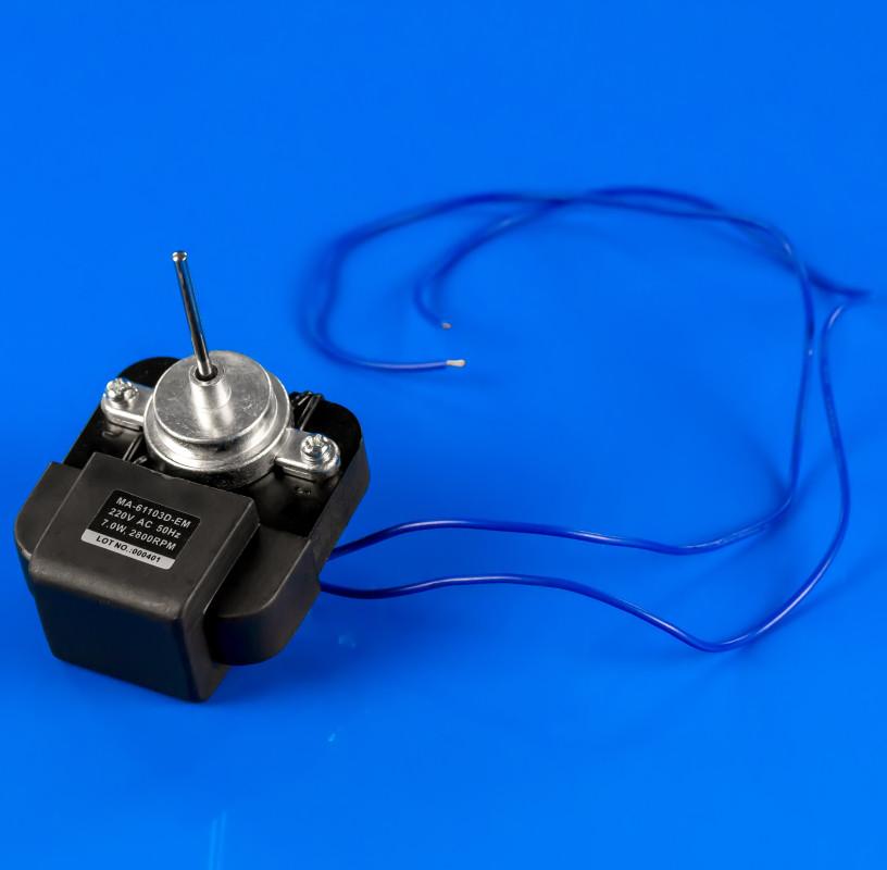 Мотор вентилятора обдува No-Frost MA-61103D-EM Вал 40*3,2 мм