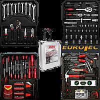 Набор инструментов универсальный AL-FA, 157 предметов и комплектов, набор инструментов для дома