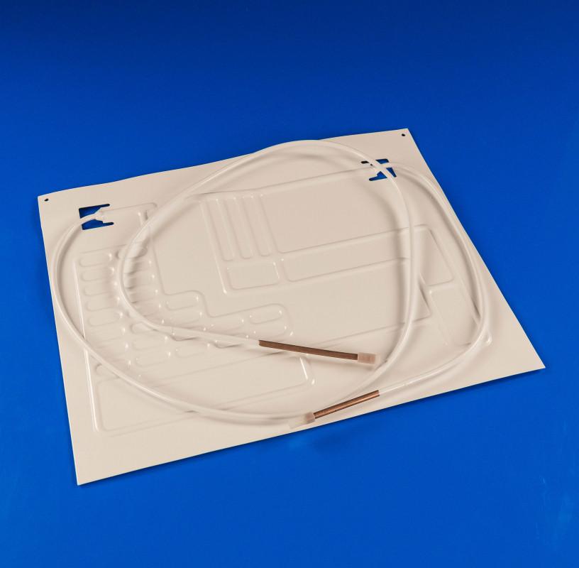 Пластина испарителя с 2 трубками 0,5м+1,5м (450*370мм)