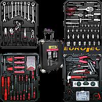 Набор инструментов универсальный LEX 186CC-2, 157 предметов и комплектов, набор инструментов для дома