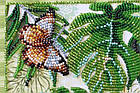 Набор-миди для вышивки бисером Монстера (20 х 20 см) Абрис Арт AMB-028, фото 2