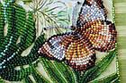 Набор-миди для вышивки бисером Монстера (20 х 20 см) Абрис Арт AMB-028, фото 4