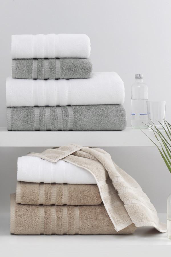 Soft cotton рушник лицьове BAMBU 50х100 білий