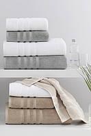 Soft cotton лицевое полотенце BAMBU 50х100  белый