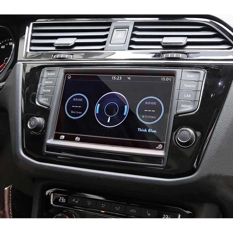 Защитное стекло для экрана мультимедиа (монитор,панель приборов) Volkswagen Tiguan L Atlas Jetta Golf