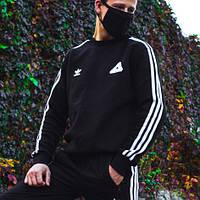 Теплый свитшот Adidas x Palace черный