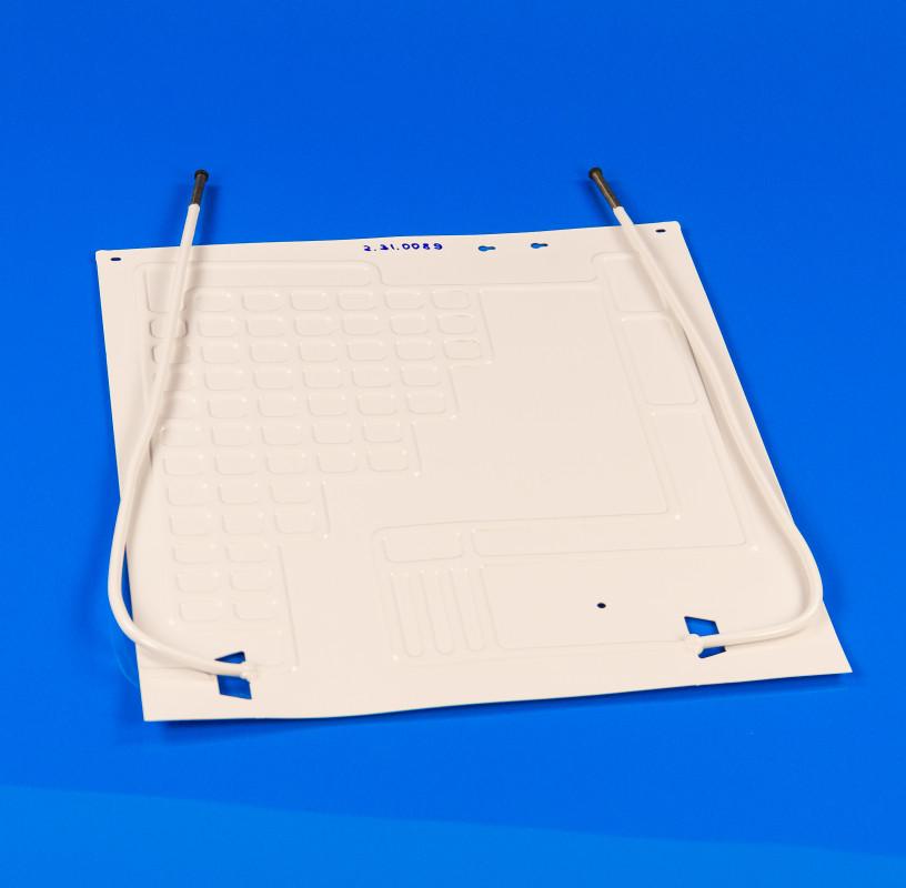 Пластина испарителя 450*500 мм (2 трубки по  0,5 м)