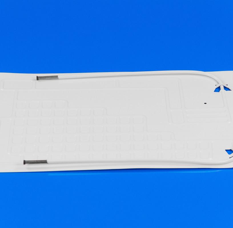 Пластина испарителя 400*600 мм (2 трубки по 0,5 м)