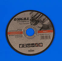 Круг отрезной по металлу Ø125х1,2х22,2мм Sigma 1940081