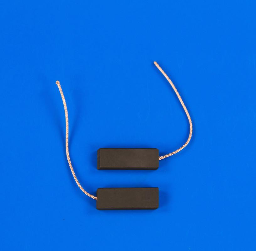 Клееные угольные щетки SKL 5*12,5*35 мм, провод по центру