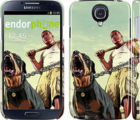 "Чехол на Samsung Galaxy S4 i9500 GTA. Rottweiler ""847c-13"""