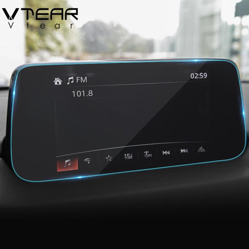 Защитное стекло для экрана мультимедиа (монитор,панель приборов) Mazda CX-5 CX5 CX 5