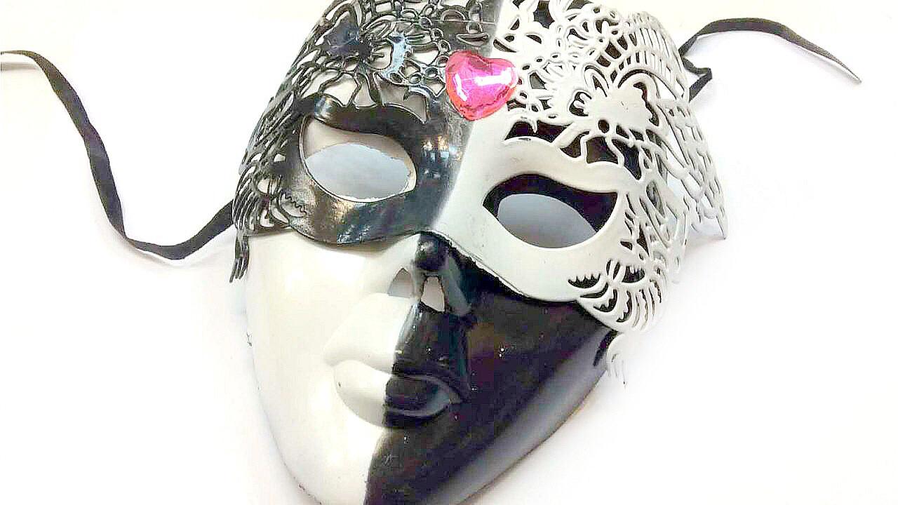 Карнавальная маска Сердце