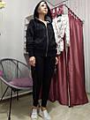 Спортивная Кофта Victoria's Secret PINK Premium College Full-Zip Full-Zip XS, Черная, фото 6