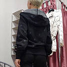 Спортивная Кофта Victoria's Secret PINK Premium College Full-Zip Full-Zip XS, Черная, фото 3