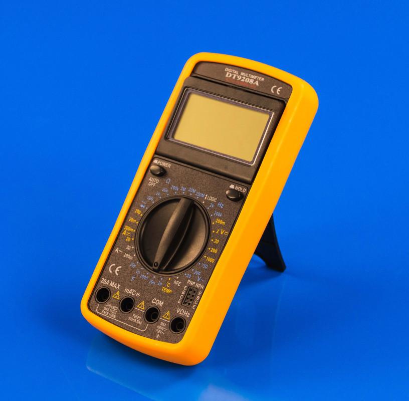 Мультиметр цифровой (тестер) DT9208A
