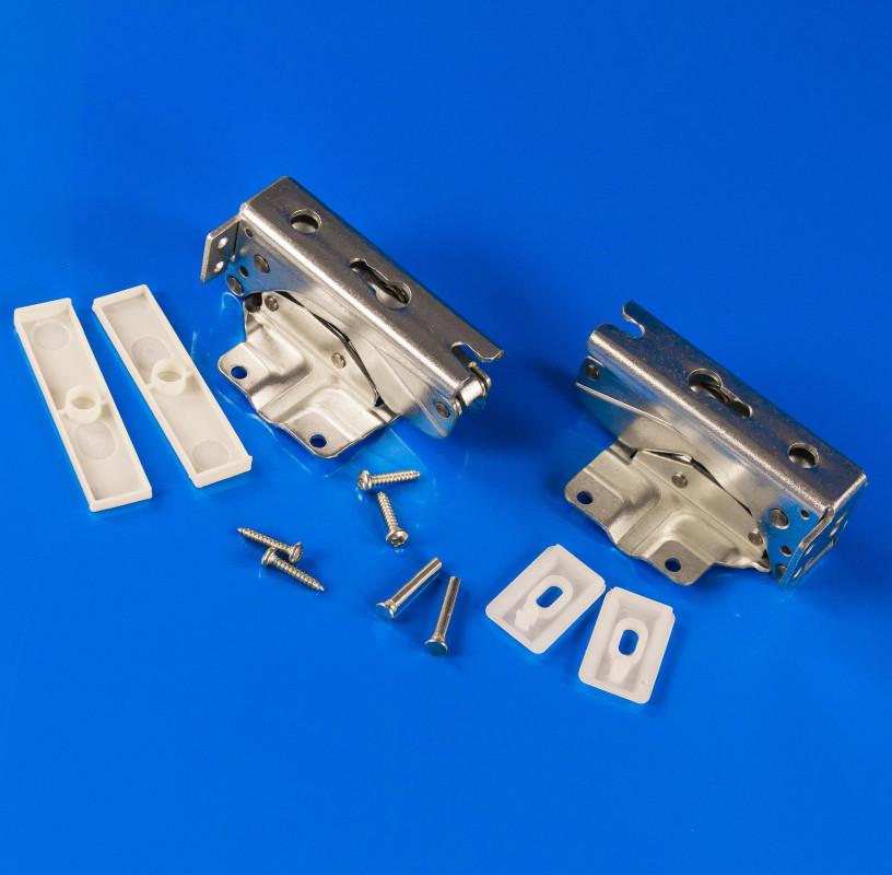 Комплект петель двери холодильника Bosch Siemens 481147 (не оригинал)