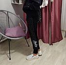 Спортивні Штани Victoria's Secret PINK Bling S, Чорний, фото 3