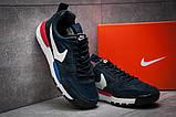 Кроссовки мужские 12583, Nike, темно-синие ( 44 45  )(найк)о, фото 3