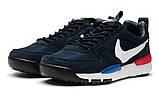 Кроссовки мужские 12583, Nike, темно-синие ( 44 45  )(найк)о, фото 7