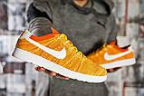 Кроссовки мужские Nike , желтые (2470-4) размеры в наличии ► [  41 (последняя пара)  ], фото 6