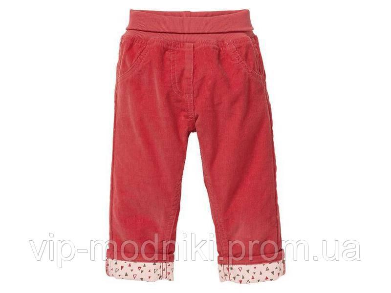 Штаны вельветовые для девочки от лупилу германия.