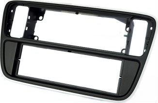 Переходная рамка CARAV 11-312 для SKODA Citigo 2012+ / VOLKSWAGEN up! 2012+ / SEAT Mii 2012+ (Black)