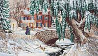 Набор для вышивания крестом Winter Lace//Зимние кружева DIMENSIONS 35111 (Перевыпуск)