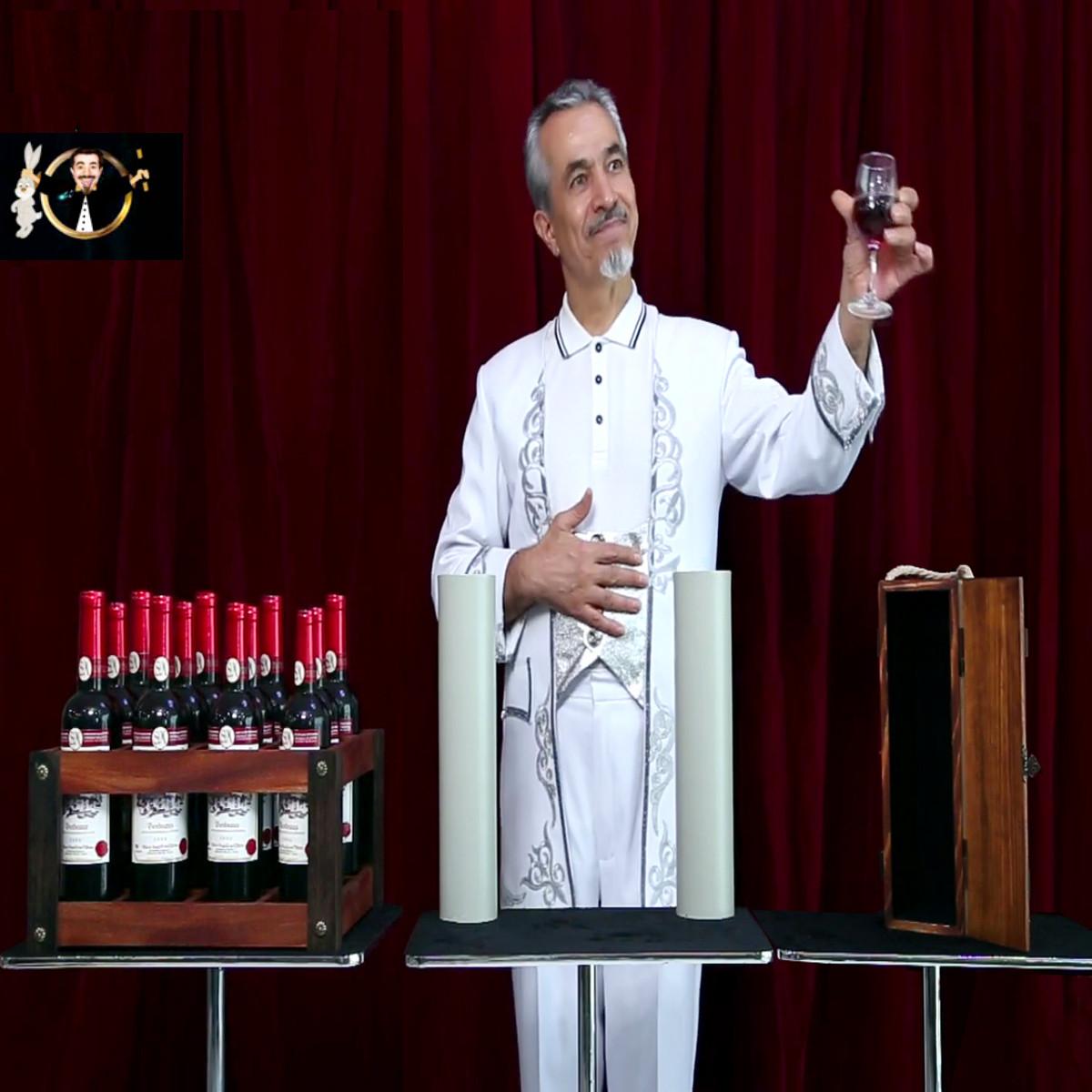 Реквізит для фокусів | Super Wine Game by Magic Tora
